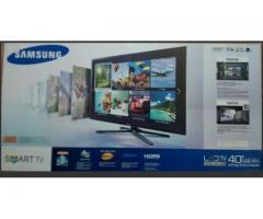 Samsung Smart Tv, 40 Pulgadas, 3d, Serie 6 con wifi y procesador dual core.