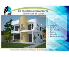 kit de casa y townhouse