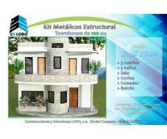 kit de casa y townhouse