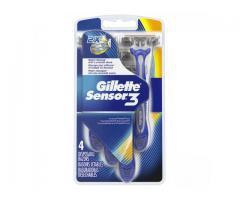 Gillette Sensor 3 ( 4 desechables)