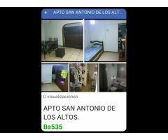 VENTA DE HERMOSO APTO EN SAN ANTONIO DE LOS ALTOS