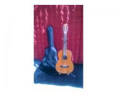 Guitarra acustica prudencio Saez