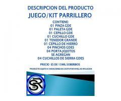 KIT PARRILLERO - Imagen 5/5