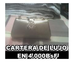 *CARTERA DE LUJO EN 4.000BsF