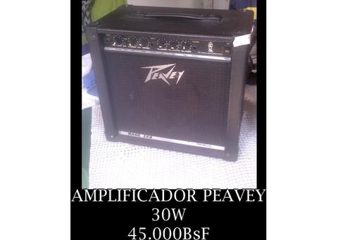 """*AMPLIFICADOR PARA GUITARRA DE 30W Marca: """"PEAVEY"""" EN 45.000BsF"""
