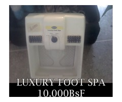 *LUXURY FOOT SPA (Spa para los Pies) EN 10.000BsF