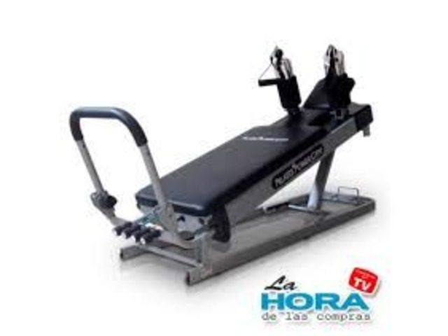 Pilates Power Gym 3-Elevation Mini Reformer Exercise System - 1/3