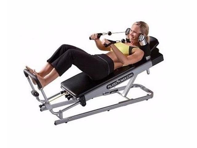 Pilates Power Gym 3-Elevation Mini Reformer Exercise System - 3/3