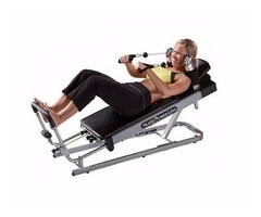 Pilates Power Gym 3-Elevation Mini Reformer Exercise System