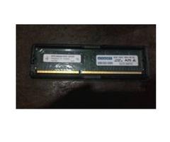 MEMORIAS RAN DDR3 DE 2 GB