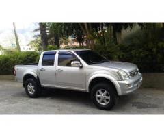 camioneta pick up luv d max 3.5L 4x4 año 2008
