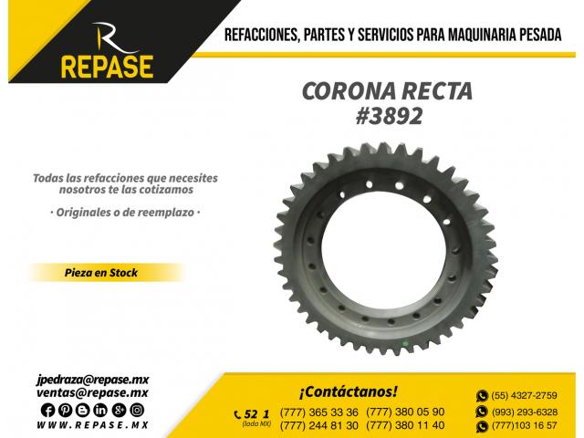 CAMBIOS PARA CORONO RECTA - 1/1