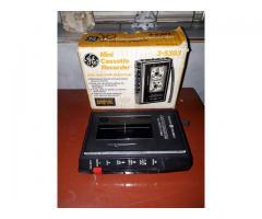 grabadora casset nueva