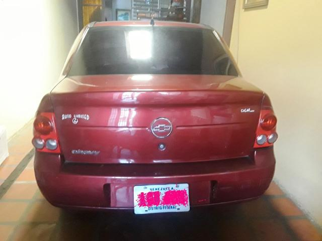 Vendo Chevy Confort 2008 Automatico Color Vinitinto - 2/6