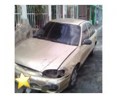 Se vende hyundai accent 2001 1.5 automatico