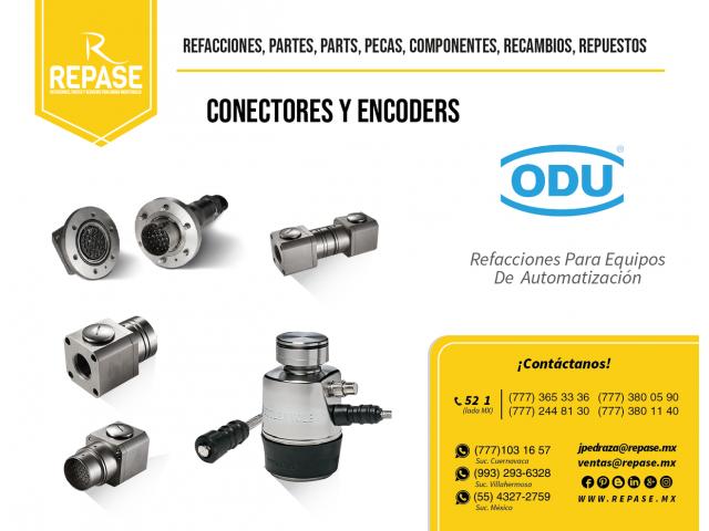 CONECTORES CIRCULARES MARCA ODU - 1/1