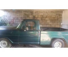 vendo camioneta ford pick-up 67