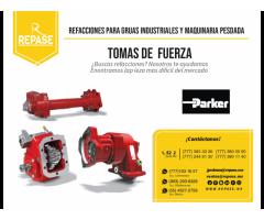 REPUESTOS PARA TOMAS DE FUERZA PARKER