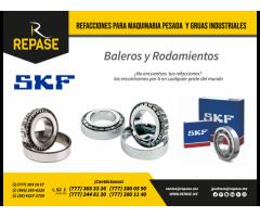 Baleros y partes para grúas industriales SKF