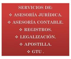 ASESORIA JURIDICA - CONTABLE