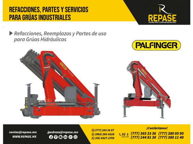 RECAMBIOS, PARTES PARA EQUIPOS PALFINGER - 1/1