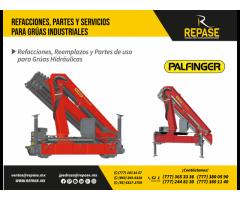RECAMBIOS, PARTES PARA EQUIPOS PALFINGER
