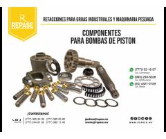 PARTES, REPUESTOS PARA BOMBAS DE PISTON REXROTH
