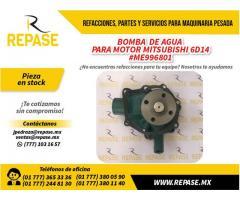 Boma de agua para Motor MITSUBISHI 6D14 #ME996401