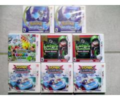 juegos ps3, ps4, wii , 3ds totalmente sellados