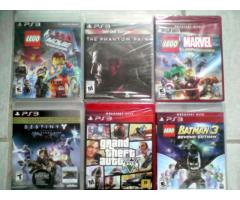 juegos ps3, ps4, wii , 3ds totalmente sellados