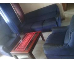 Juego de muebles con mesa de centro