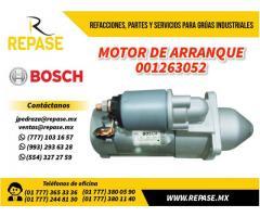 Motor de arranque #001263052