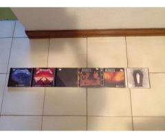 DVD Metallica (3 Cds) más 6 CDS de su discografía