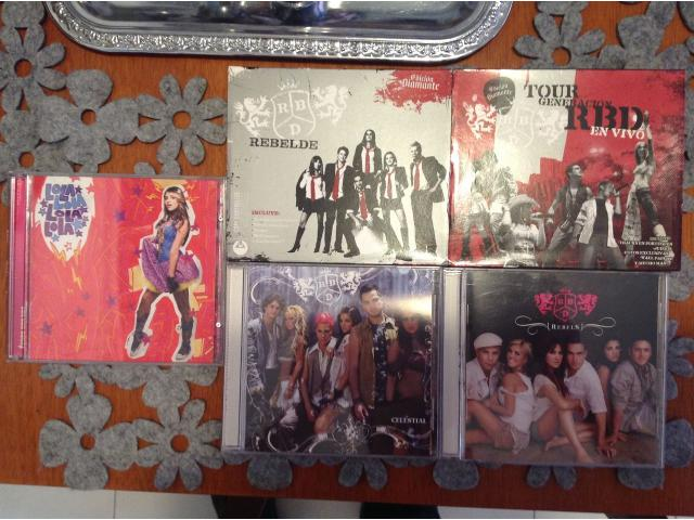 CDS ORIGINALES RBD & LOLA (VENDIDO) - 1/2