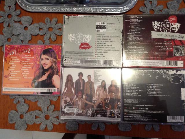 CDS ORIGINALES RBD & LOLA (VENDIDO) - 2/2