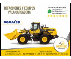 REFACCIONES Y EQUIPOS PALA CARGADORA