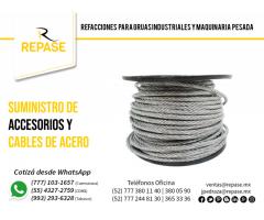 SUMINISTRO DE ACCESORIOS Y CABLES DE ACERO