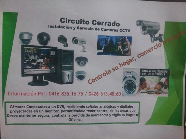 Circuito Cerrado Instalacion y Servicio de Camaras CCTV - 1/2