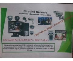 Circuito Cerrado Instalacion y Servicio de Camaras CCTV