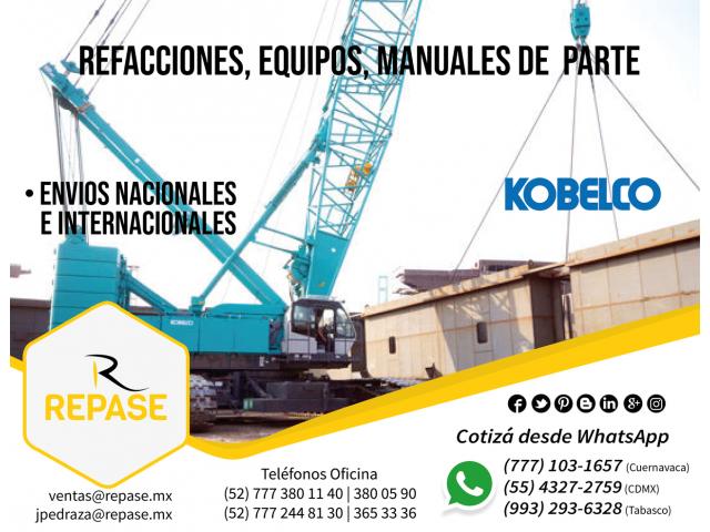 REFACCIONES, EQUIPOS Y MANUALES KOBELCO - 1/1