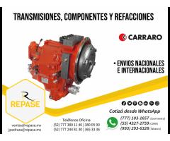 TRANSMISIONES Y COMPONENTES PARA GRÚAS CARRARO