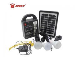 Sin Luz - Kit Iluminación (Solar) para casa,oficina y comercio