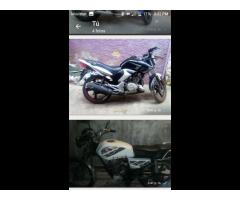 Moto Brz200 y Jaguar