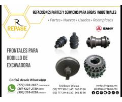 FRONTALES PARA RODILLO DE EXCAVADORA