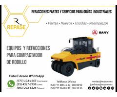 PARTES PARA COMPACTADOR DE RODILLO