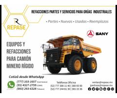 REFACCIONES PARA CAMIÓN MINERO RÍGIDO