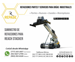 PARTES PARA REACH STACKER LIEBHERR