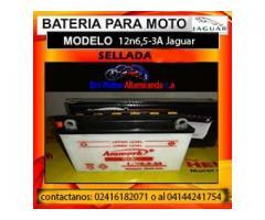bateria de moto 12n6,5-3A jaguar