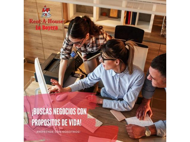 Se tu propio jefe y trabaja como Asesor Inmobiliario en Rentahouse La Boyera - 1/4