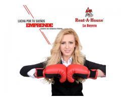 Se tu propio jefe y trabaja como Asesor Inmobiliario en Rentahouse La Boyera